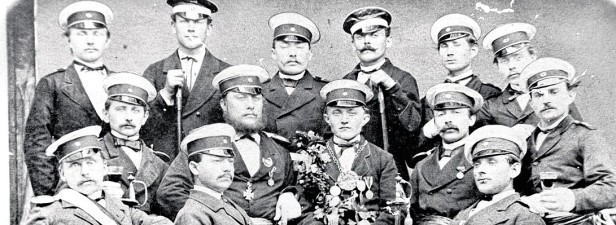 Vorstand und König der Altstadtschützen 1878