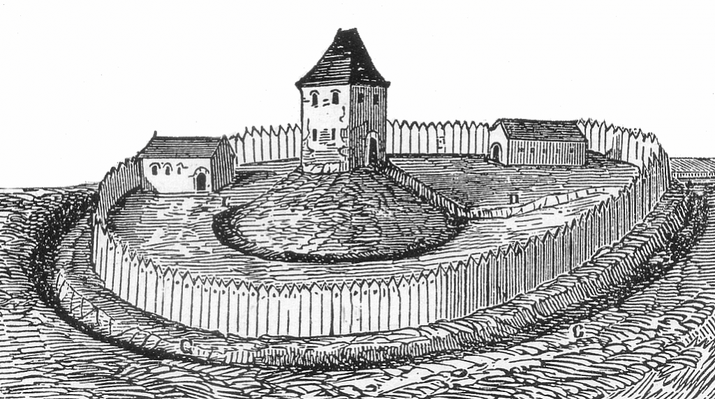 Schwatte Borg. Zeichnung