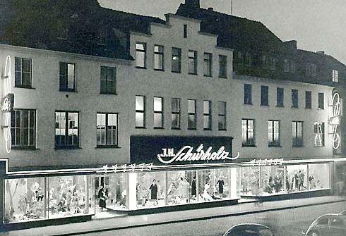 Kaufhaus am Marktplatz 1958