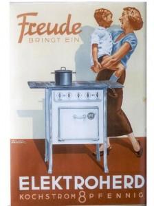 Elektrowerbung in den 1950er-Jahren