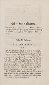 Erste Seite eines seiner Bücher