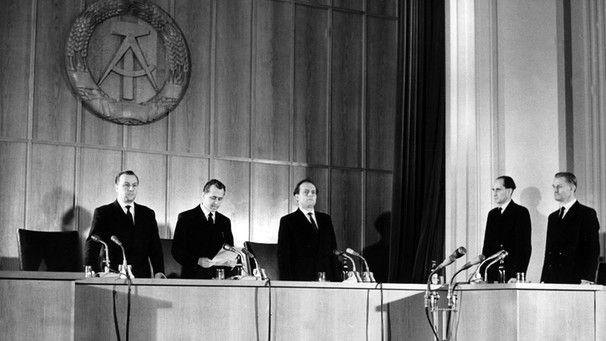 Gericht in der vergangenen DDR 1960