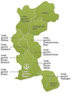Landgerichtsbezirk Essen (Justiz-Website)