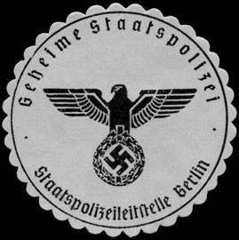 Dienstsiegel der Gestapo