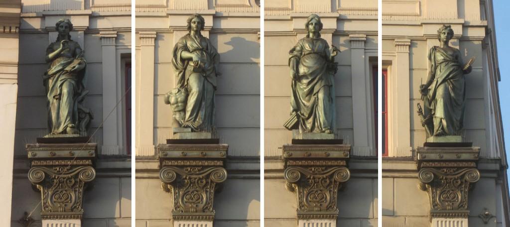 Bildhauer-Werk von Frans Stracke in Amsterdam