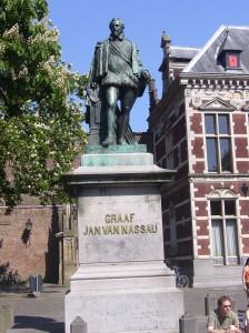 """Denkmal """"Jan van Nassau"""" in Utrecht, geschaffen von Theodor Stracke"""