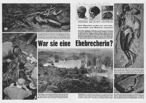 """Ausriss aus der Illustrierten """"stern"""" vom November 1953"""