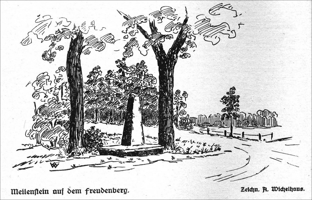 231-M-MeilenStein Freudenberg ichnung