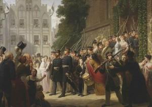 Auszug der preußischen Landwehr 1813