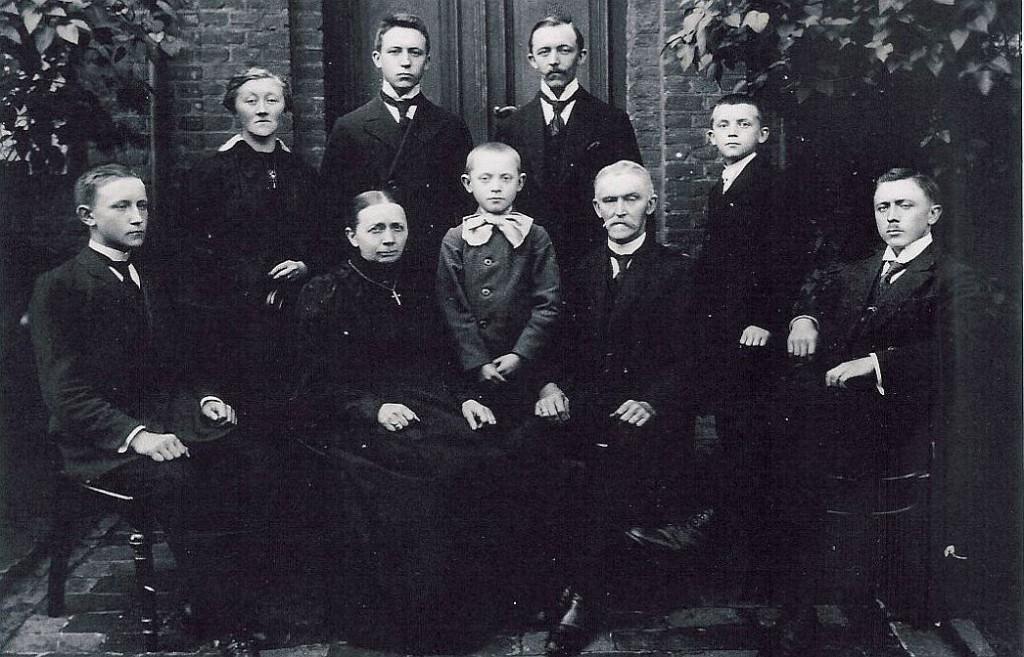 Familie mit Leo und Sophia Langenhorst in Lembeck