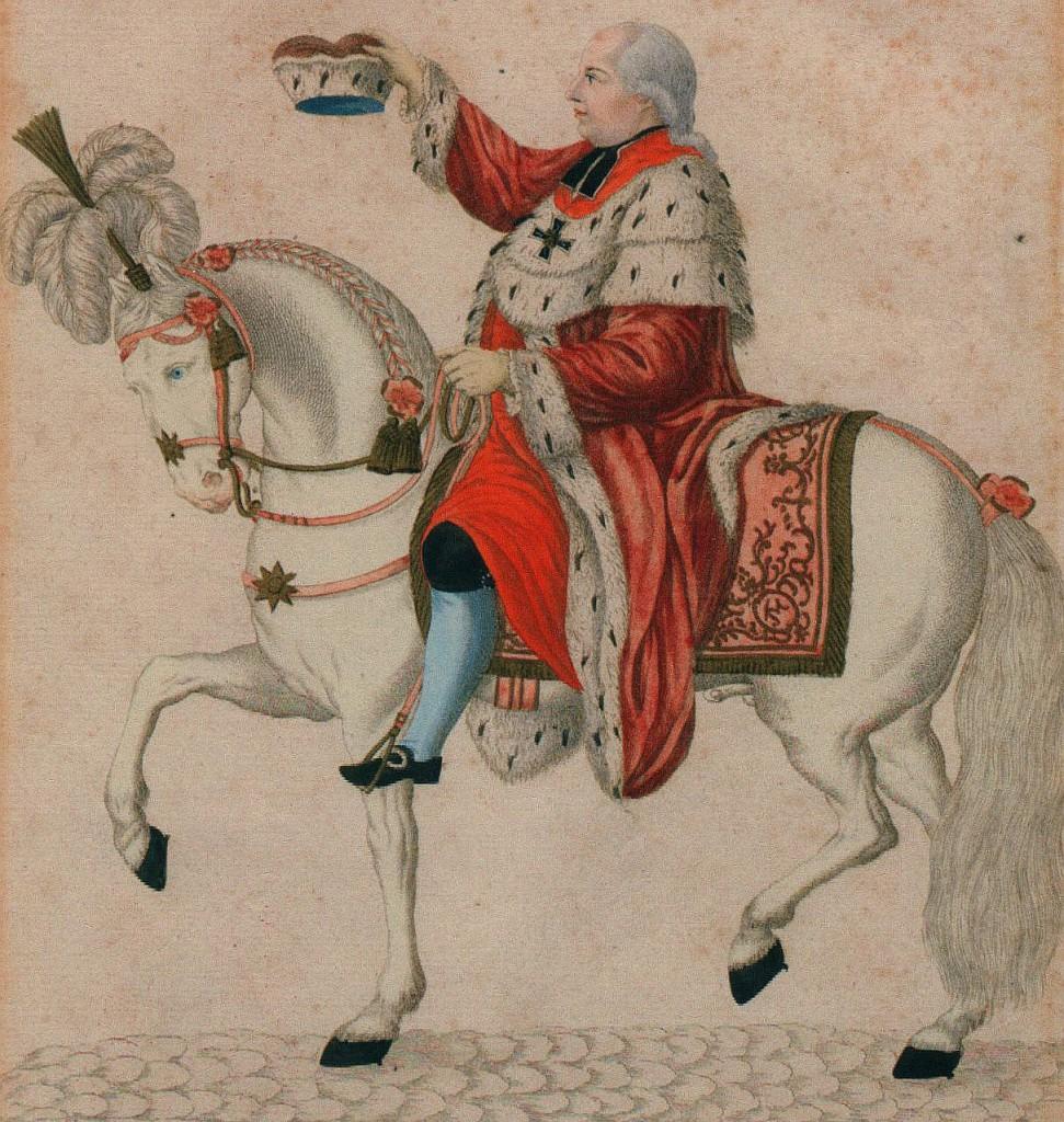 Letzter wirklicher bischöflicher Landesherr von Dorsten und der Herrlichkeit