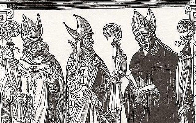 Bischöfe als Landesherren, Darstellung um 1550