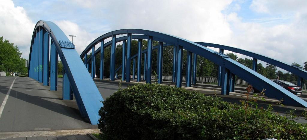 Heutige Brücke über den Wesel-Datteln-Kanal am Lippetor