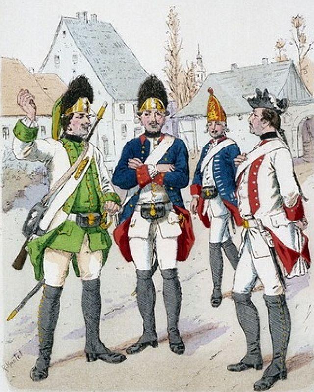 Kölnisches Militär 1757