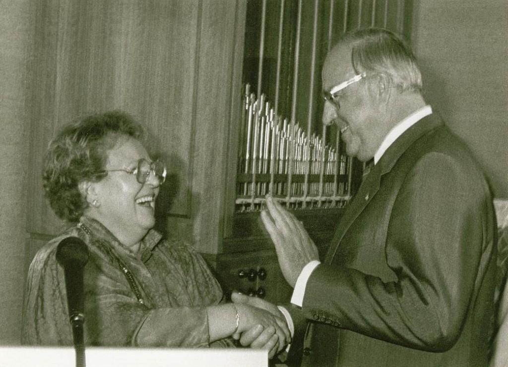 Die Staatssekretärin und ihr Bundeskanzler
