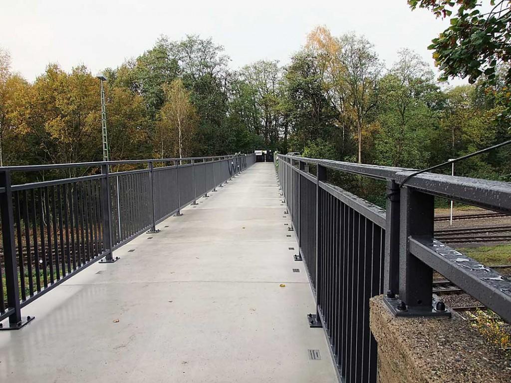 Hohe Brücke; Foto: Holstina