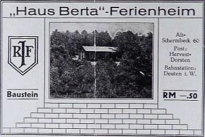 Spenden-Baustein für Haus Berta