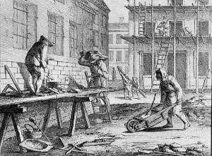 Zunft der Maurer, 18. Jahrhundert