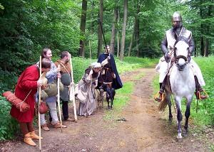 Dem Herrn Ritter sei gegrüßt; Foto: Wulfen-Wiki (2009)