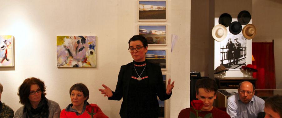 Marion Taube und ihr Fundbüro; Fotro entnommen: der lembecker