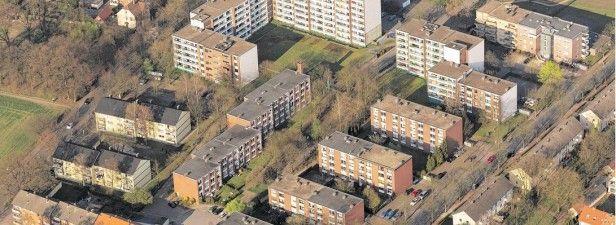 Die Ellerbruchsiedlung; Foto: Hans Blossey