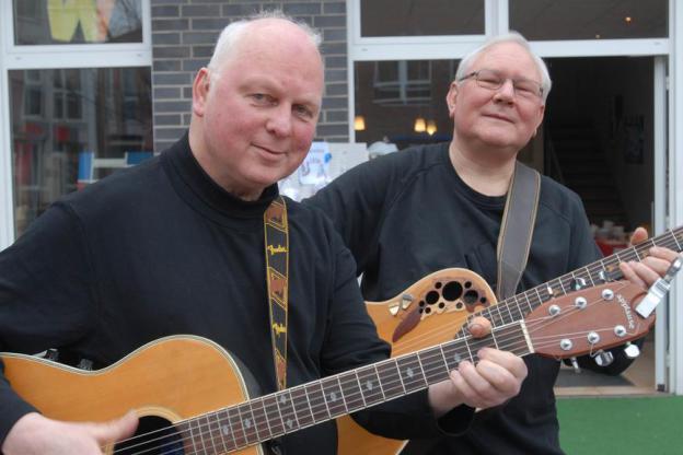 Magnus Kremser (l.) und Rolf Olland; Foto: Michael Klein