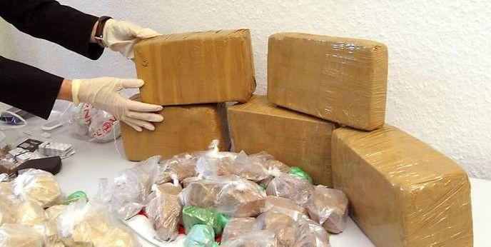 Beschlagnahmte Drogen (Symbolbild)