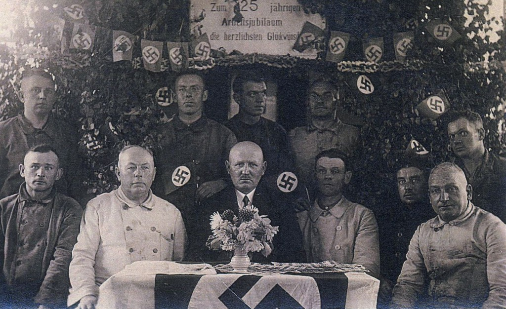 Jubiläumsfeier auf der Zeche Fürst Leopold 1943