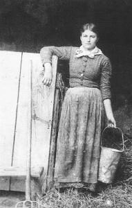 Bäuerin, 19. Jahrhundert