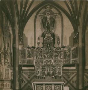 Der flämische Altar wurde im Krieg zerstört