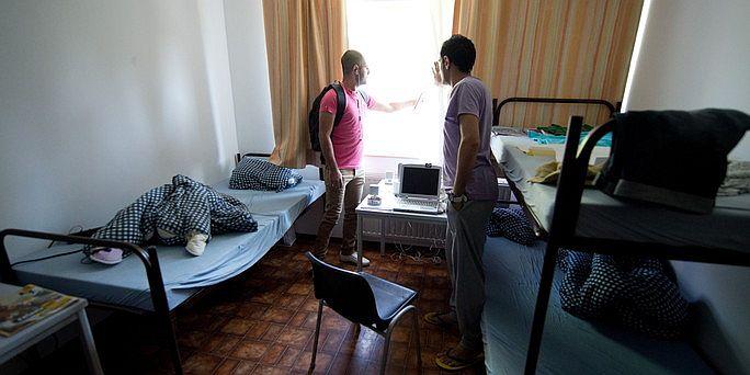 Asylbewerber-Unterkunft 2012