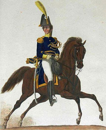Arenbergischer Kavallerieoffizier 1808