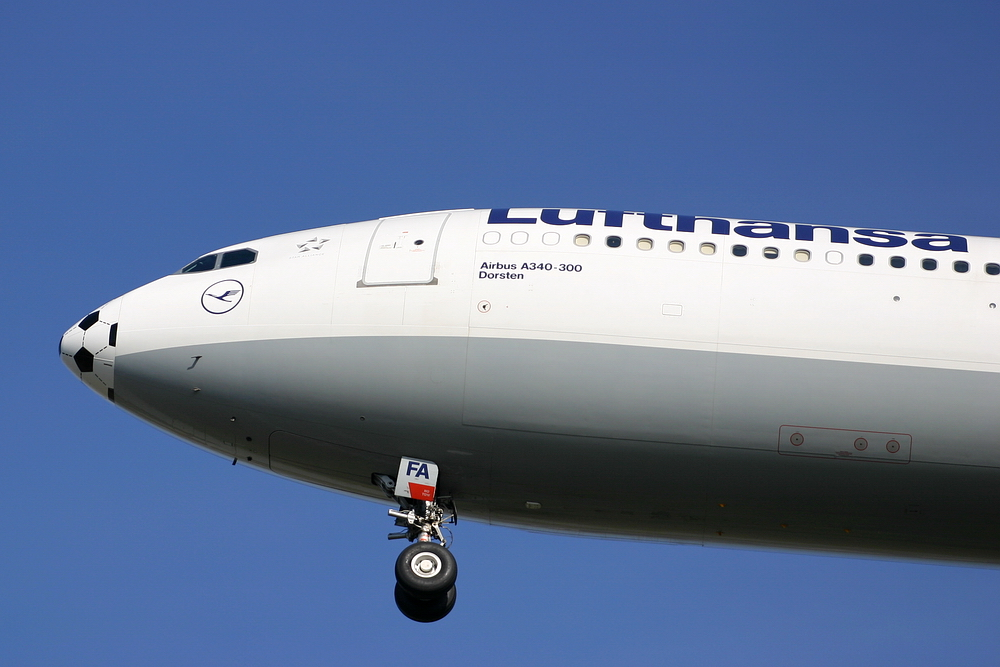 """Airbus 800 - 830, der den Namen """"Dorsten"""" in die Welt trägt"""