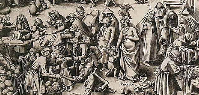 "Armut und ""caritas"" 17. Jahrhundert"