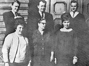 Lehrerkollegium 1967
