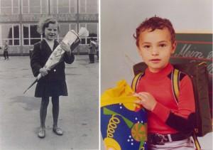 Petra Sommberg 1959 und ihr Sohn Uwe 1977