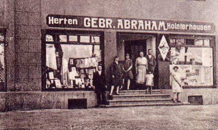 Nur für kurze Zeit befand sich das Geschäft an der Borkener Straße