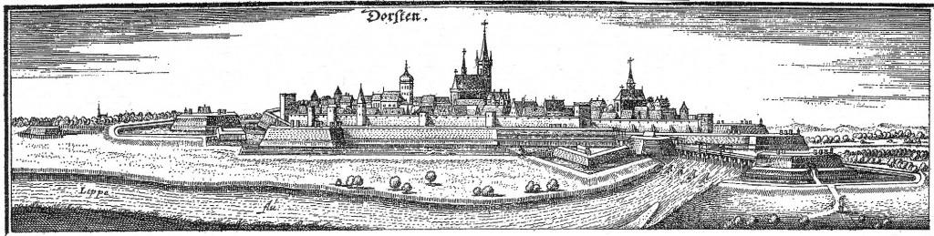 Ausschnitt aus dem Merian-Stich von 1642 (nicht ganz identisch)