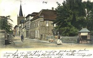 Recklinghäuser Straße um 1905