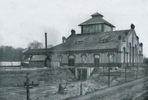 Ziegelei der Zeche Baldur 1909