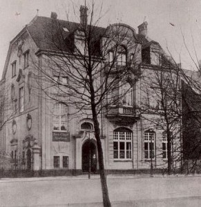 Stadtsparkasse am Südwall 1920