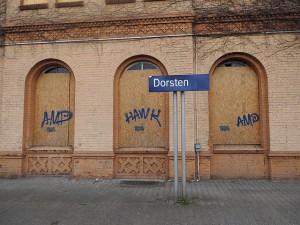 Jahrzehntelanger Schandfleck; Foto: Stegemann