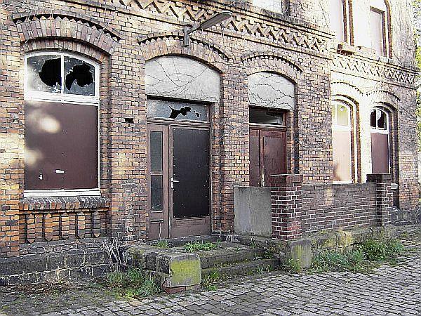 Unter Denkmalschutz: Bahnhof Wulfen; Foto: Wulfen-Wiki