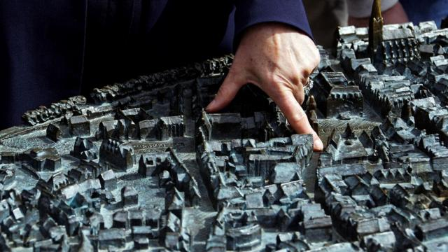 Stadt zum Anfassen: Blindenmodell Lüneburg