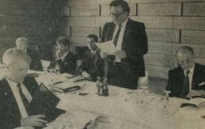 Albert Stewing (rechts); Pressebild