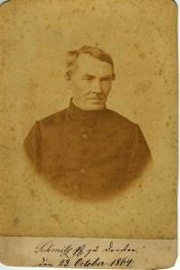 Pfarrer Schmitz 1864
