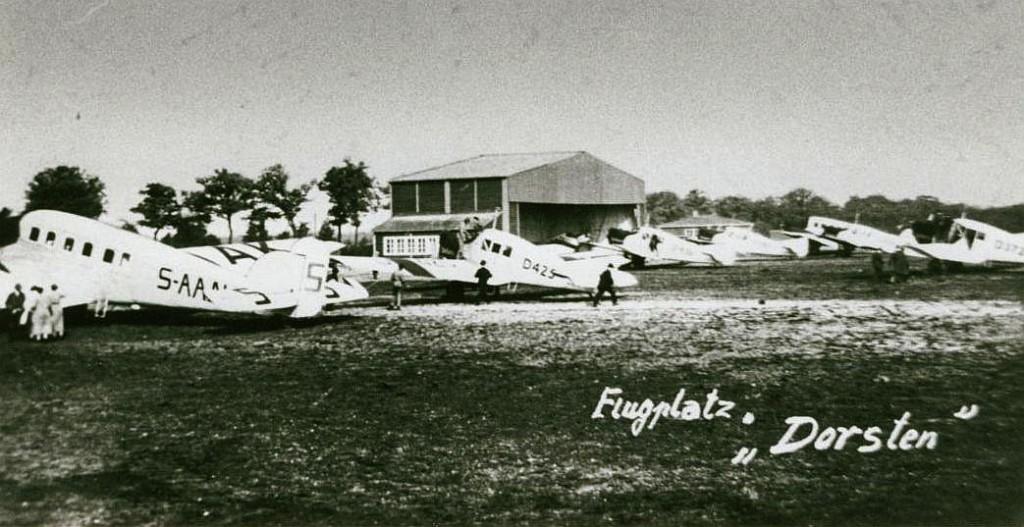 """Flugplatz """"Dorsten"""" in der Erler Heide"""