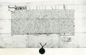 Gründungsurkunde 1487