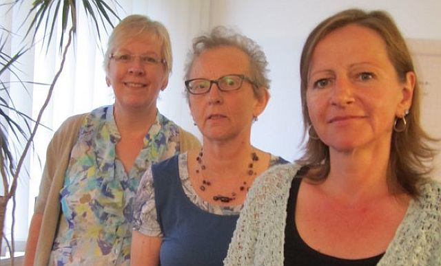 Waltraud Tenholte, Maria-Anna Gaida, Birgit Schmidt (v. l.); Foto: privat