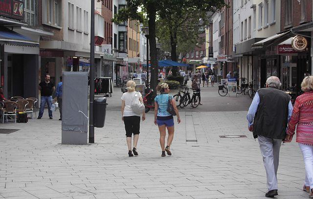 Lippestraße Richtung Innenstadt 2016; Foto: Wolf Stegemann